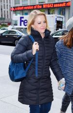 MELISSA JOAN HART Out and About in New York 11/23/2015