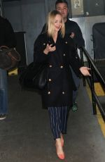 MENA SUVARI Out and About in New York 11/17/2015