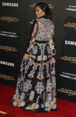 META GOLDING at The Hunger Games: Mockingjay, Part 2 Premiere in Los Angeles 11/16/2015