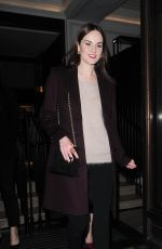 MICHELLE DOCKERY at Burberry Festive Film Premiere in London 11/03/2015