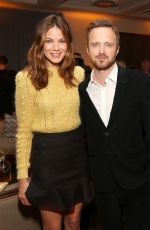 MICHELLE MONAGHAN at Hulu Holiday Party at Spago in Beverly Hills 11/24/2015