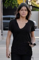 MICHELLE RODRIGUEZ Out and About in Los Angeles 11/06/2015