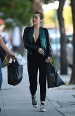 MILEY CYRUS Out Shopping in Los Angeles 10/30/2015