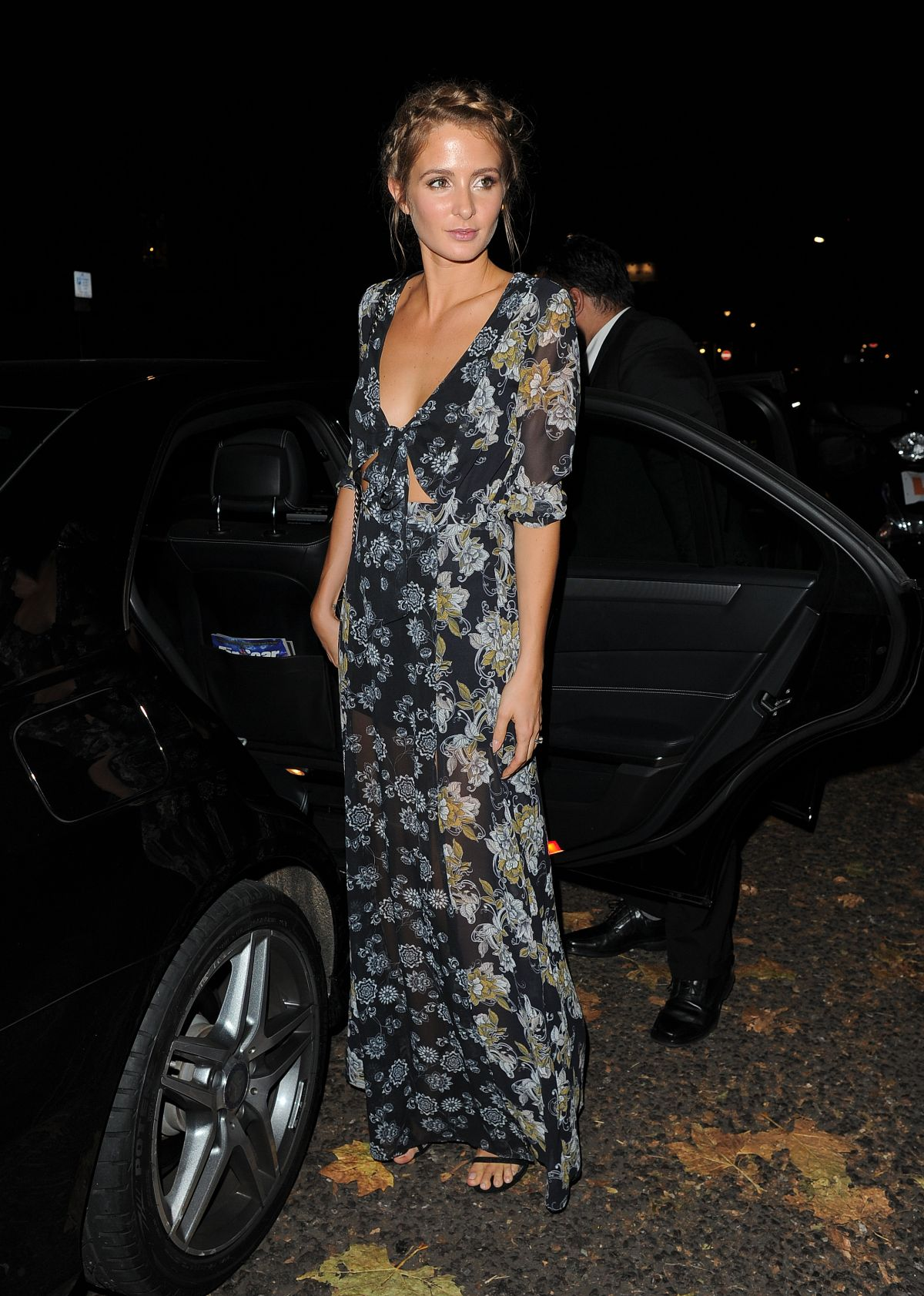 MILLIE MACKINTOSH at Her Fashion Preview and VIP Launch Dinner in London 11/10/2015