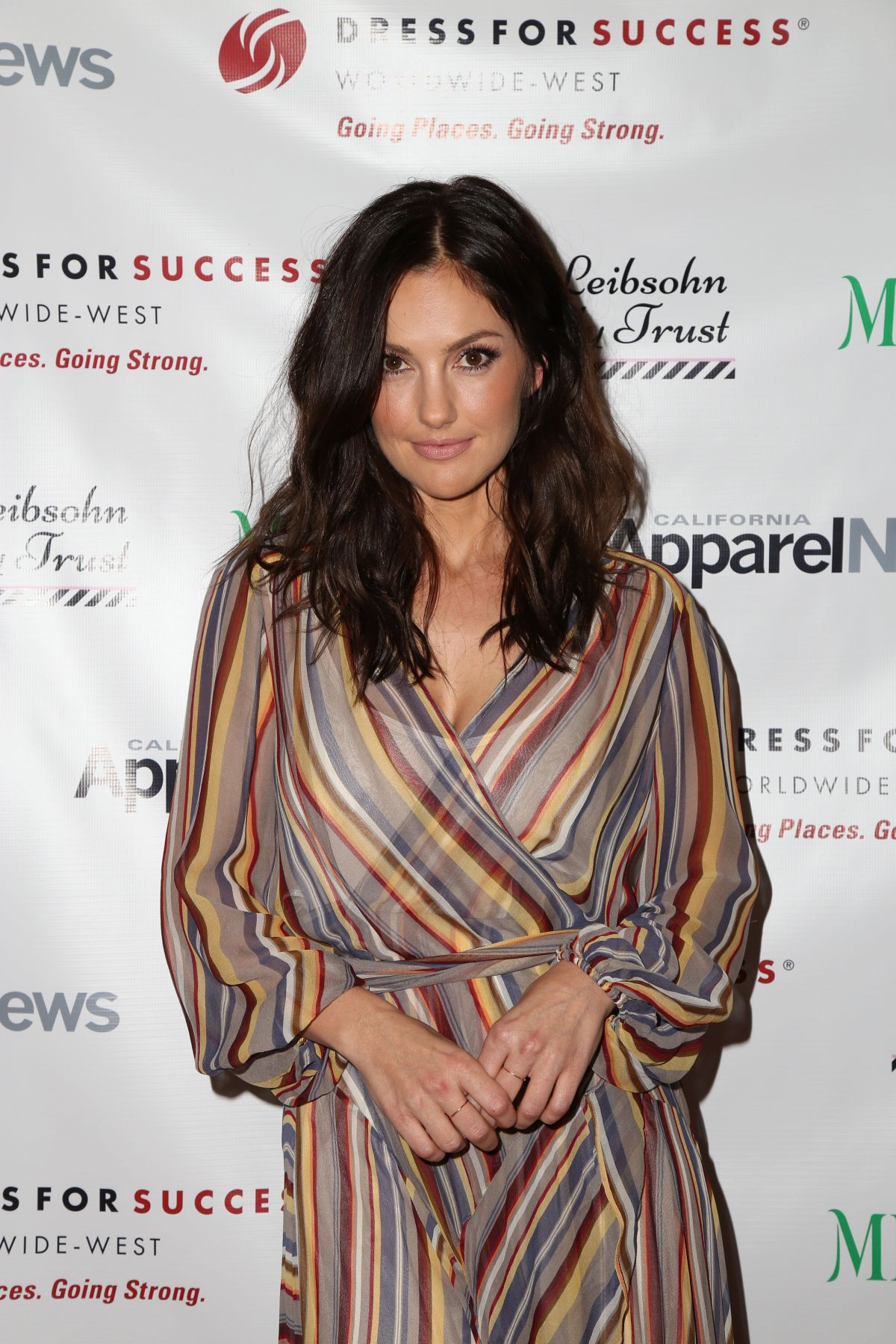 MINKA KELLY at Dress for Success Shop for Success Exclusive VIP Shopping Event in Beverly Hills 11/19/2015