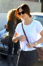 MINKA KELLY Out and About in West Hollywood 11/19/2015