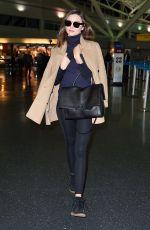 MIRANDA KERR Arrives at JFK Airport in New York 11/15/2015