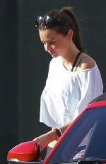 MIRANDA KERR Leaves a Yoga Class in Malibu 11/03/2015