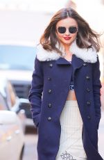 MIRANDA KERR Out and About in New York 11/17/2015