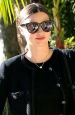 MIRANDA KERR Walks Her Dog Out in Los Angeles 11/21/2015