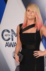 MIRANDA LAMBERT at 49th Annual CMA Awards in Nashville 11/04/2015
