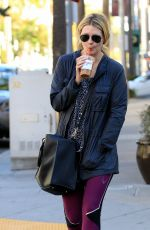 MISCHA BARTON Out for Luch in Beverly Hills 11/20/2015