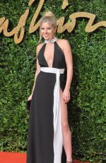 MOLLIE KING at 2015 British Fashion Awards in London 11/23/2015
