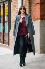 MONICA BELLUCCI Out and About in New York 11/05/2015