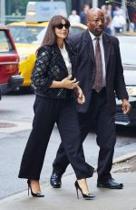 MONICA BELLUCI Arrives at Her Hotel in New York 11/05/2015