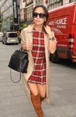 MYLEENE KLASS Arrives at Capital FM Radio Studios in London 11/09/2015