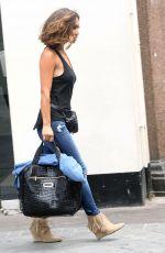 MYLEENE KLASS Out in London 11/08/2015
