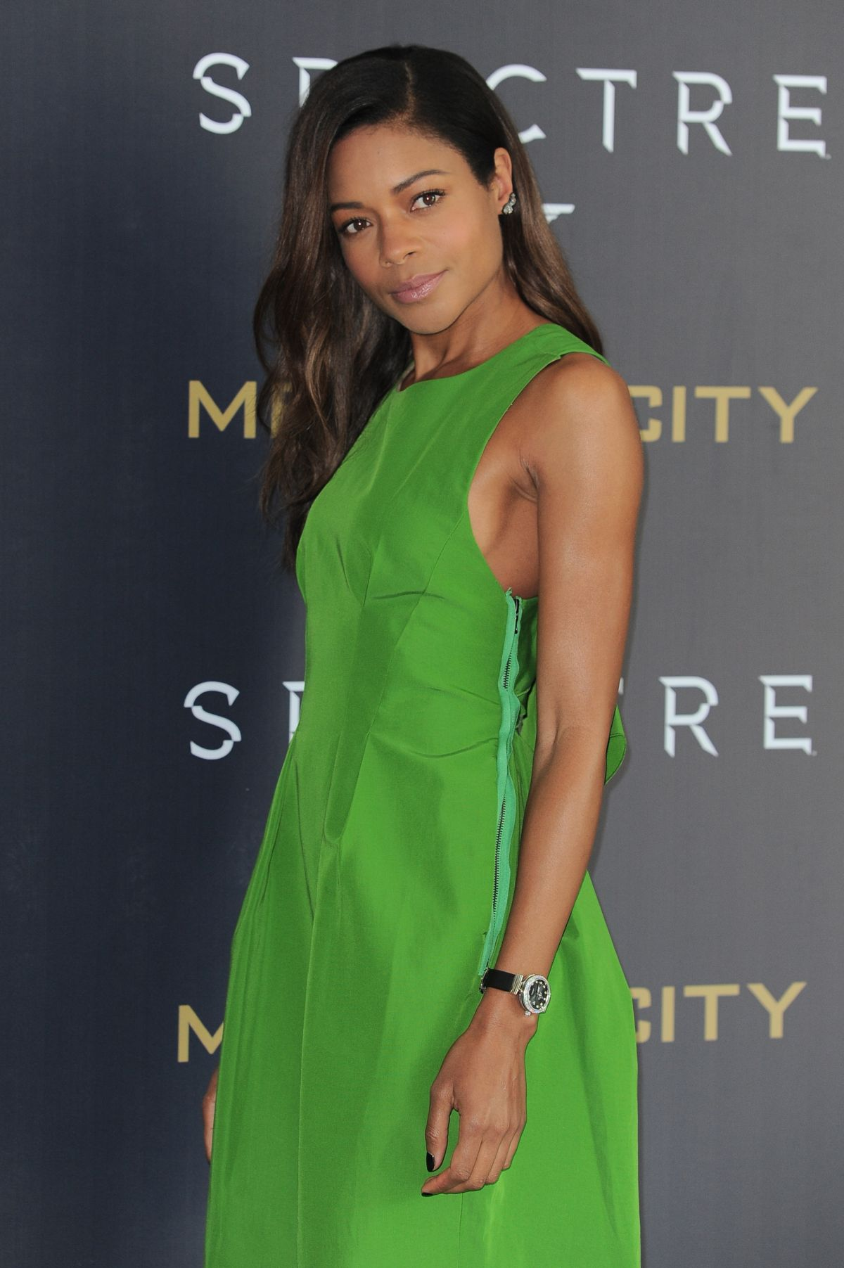 NAOMIE HARRIS at Spectre Photocall in Mexico City 11/01/2015