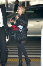 NASTIA LIUKIN at Los Angeles International Airport 11/23/2015