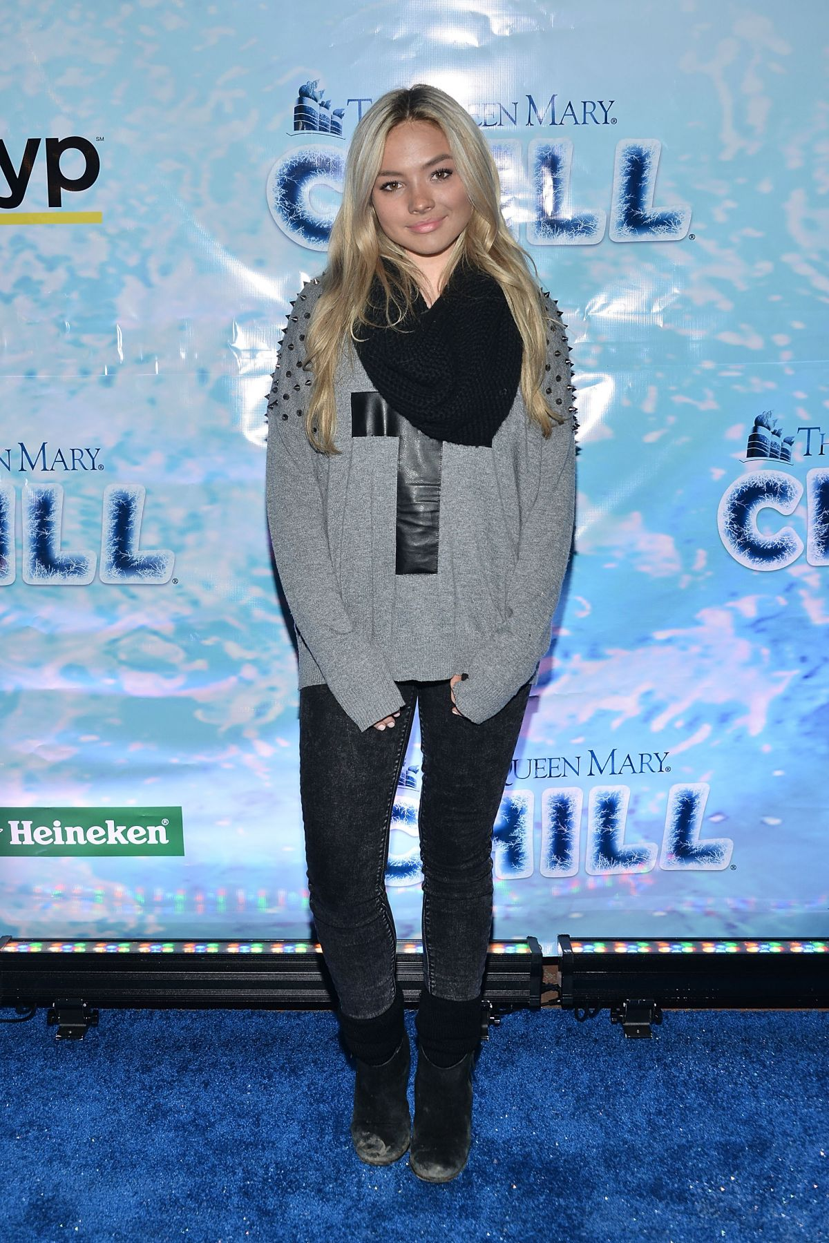 NATALIE ALYN LIND at Queen Mary's CHILL Freezes Over SoCal in Long Beach 11/20/2015