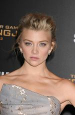 NATALIE DORMER at The Hunger Games: Mockingjay, Part 2 Premiere in Los Angeles 11/16/2015