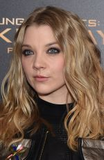NATALIE DORMER at The Hunger Games: Mockingjay, Part 2 Premiere in New Yrok 11/18/2015