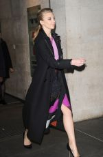 NATALIE DORMER Leaves BBC Radio 1 Studios in London 11/06/2015