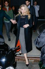 NATALIE DORMER Leaves Her Hotel in New York 11/18/2015