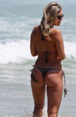 NATASHA OAKLEY in Bikini at a Beach in Sydney 11/23/2015