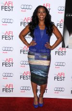NICHELLE HINES at AFI Fest 2015 Centerpiece Gala: Concussion Premiere in Hollywood 11/10/2015