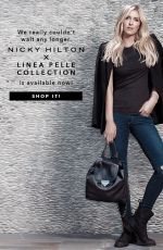 NICKY HILTON - Linea Pelle Handbags, Fall 2015 Photoshoot 11/13/2015