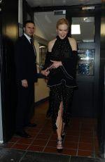 NICOLE KIDMAN Leaves The CLaridge Hotel in London 11/03/2015