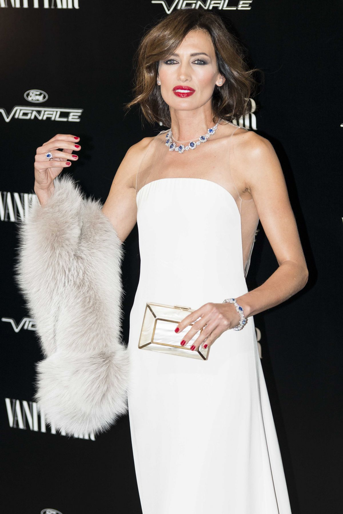 NIEVES ALVAREZ at Vanity Fair Personality of the Year Gala in Madrid 11/16/2015