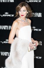 NIEVES ALVAREZ at Vanity Fair Personality of the Year Gala in Madrid 11/16/2015