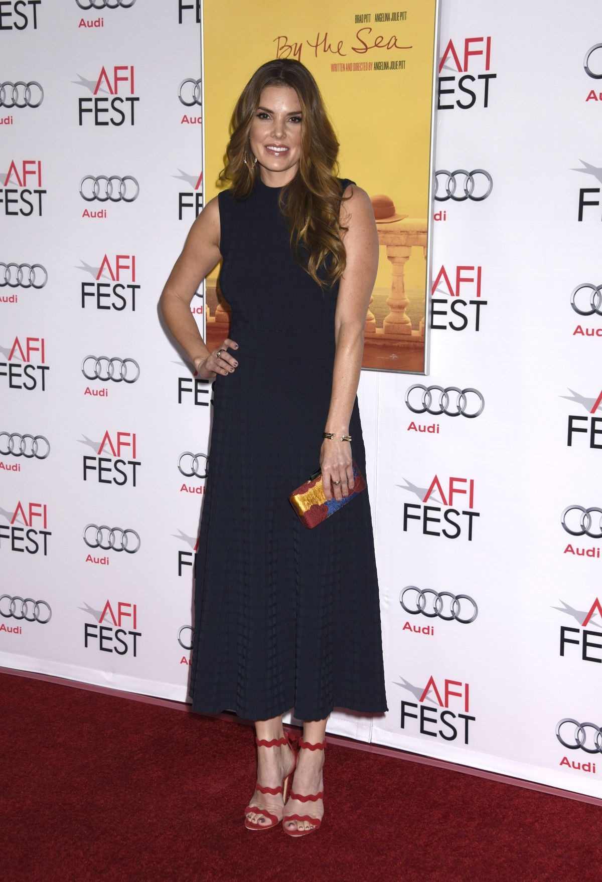 NIKKI MOORE at AFI Fest 2015 Opening Night Gala in Hollywood 11/05/2015