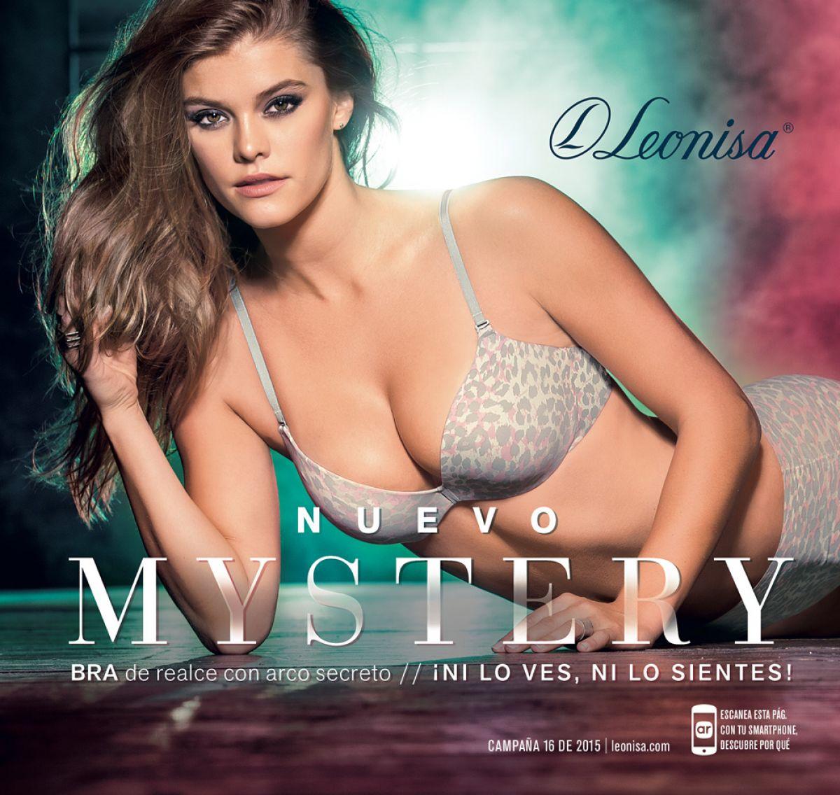 NINA AGDAL - Leonisa Mistery 2015 Promos