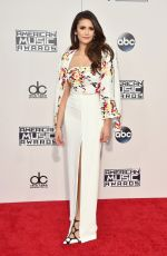 NINA DOBREV at 2015 American Music Awards in Los Angeles 11/22/2015