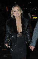 OLA JORDAN Leaves Annabells Nightclub 11/18/2015