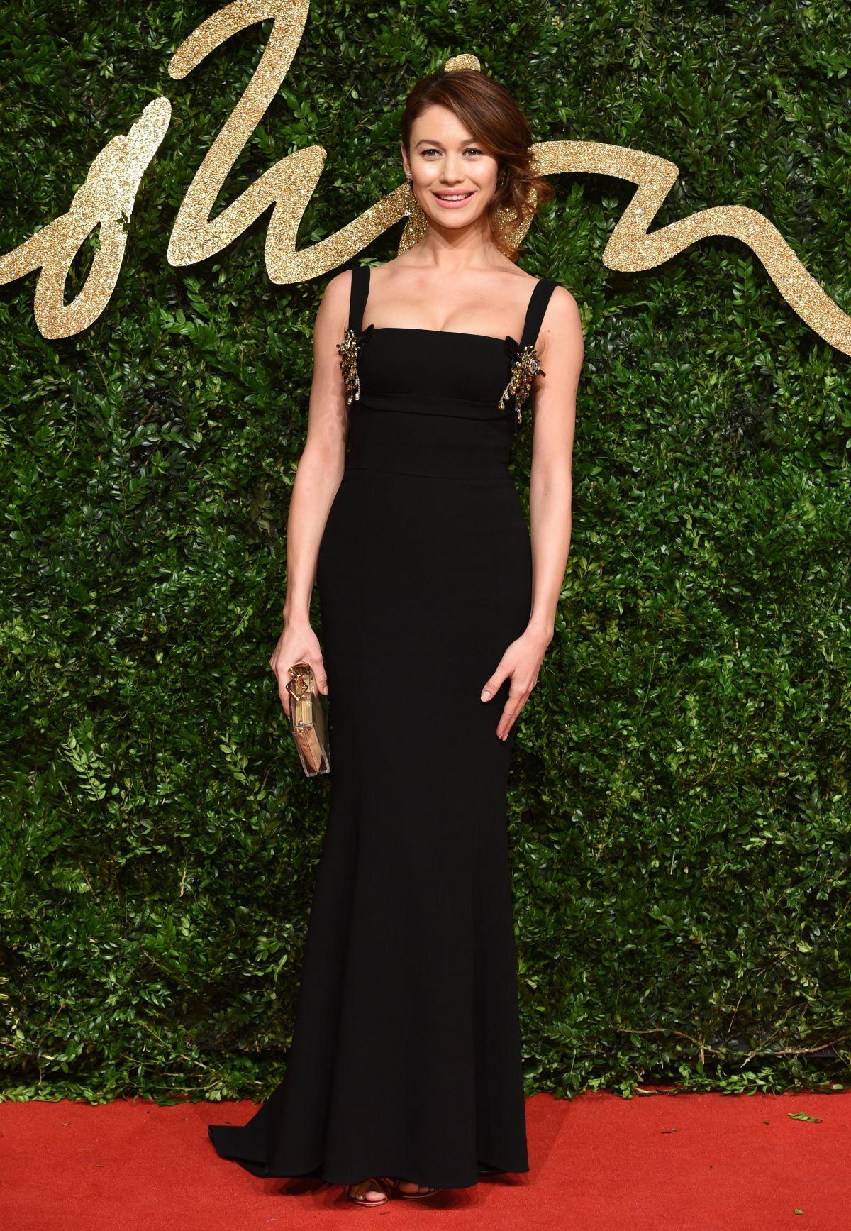 OLGA KURYLENKO at 2015 British Fashion Awards in London 11/23/2015
