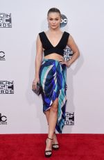 OLIVIA HOLT at 2015 American Music Awards in Los Angeles 11/22/2015