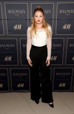 OLIVIA HOLT at Balmain x H&M Los Angeles VIP Pre-launch in West Hollywood 11/04/2015