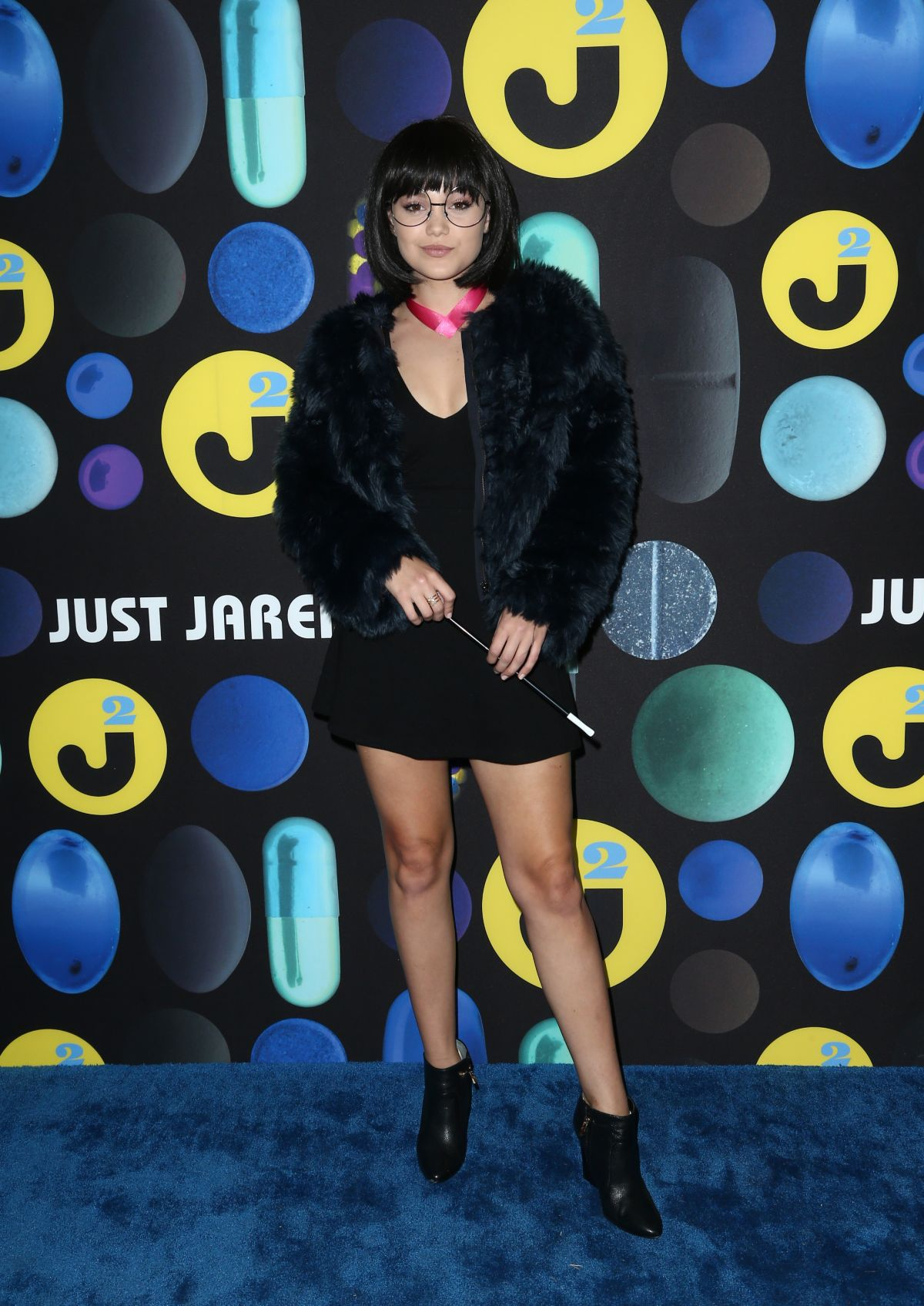 OLIVIA HOLT at Just Jared Halloween Party in Hollywood 10/31/2015