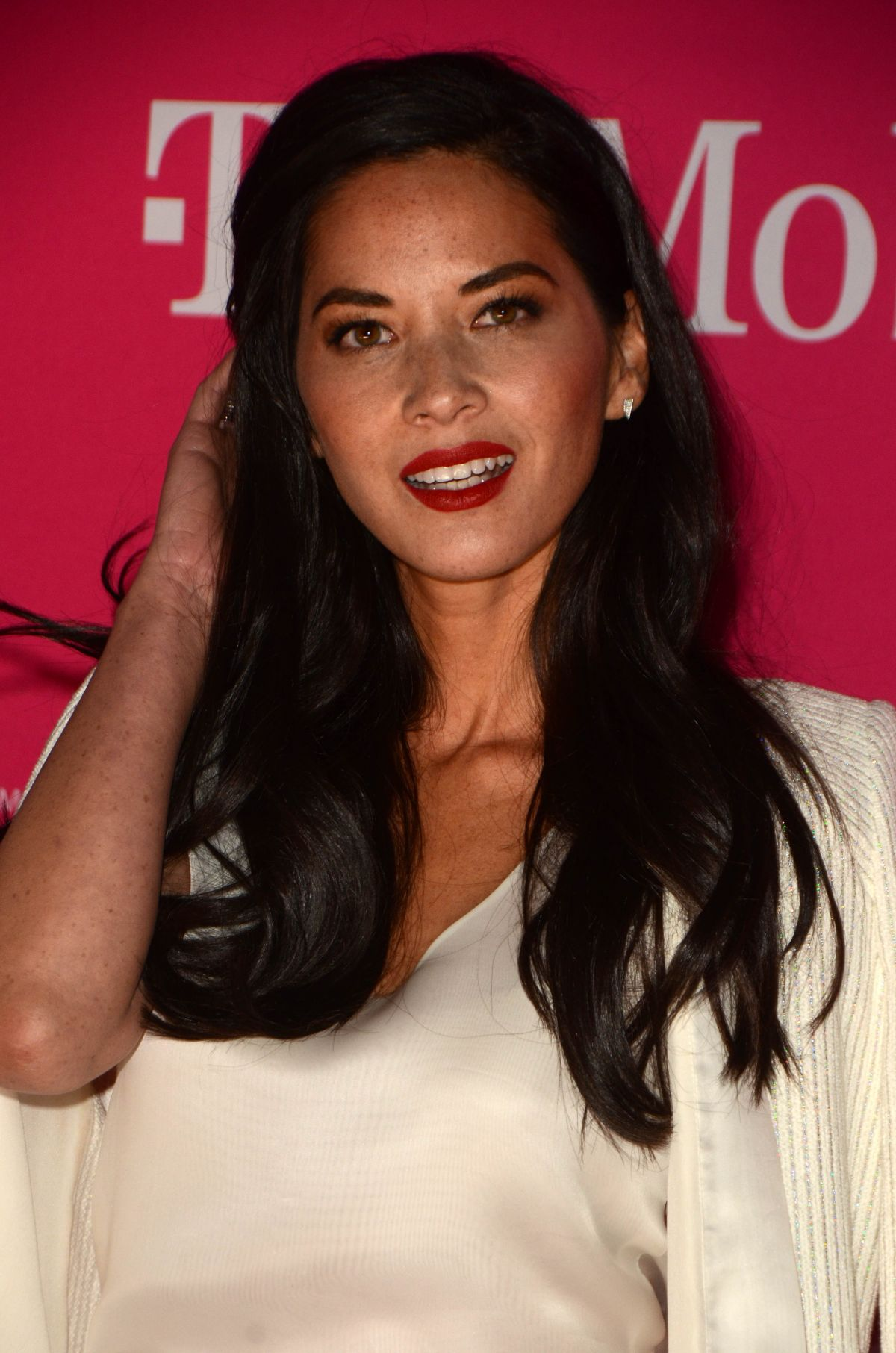 OLIVIA MUNN at T-Mobile Un-Carrier X 11/10/2015
