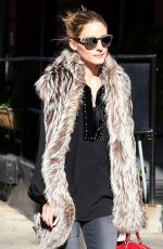 OLIVIA PALERMO Out and About in New York 11/16/2015
