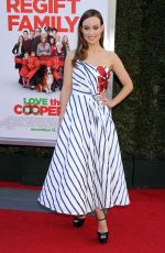 OLIVIA WILDE at Love the Coopers Holiday Luncheon Benefiting LA Regional Food Bank 11/12/2015