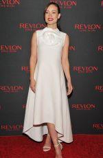 OLIVIA WILDE at Revlon Love Is On Million Dollar Challenge in New York 11/18/2015