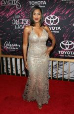 OMAROSA MANIGAULT STALLWORTH at 2015 Soul Train Music Awards in Las Vegas 11/06/2015