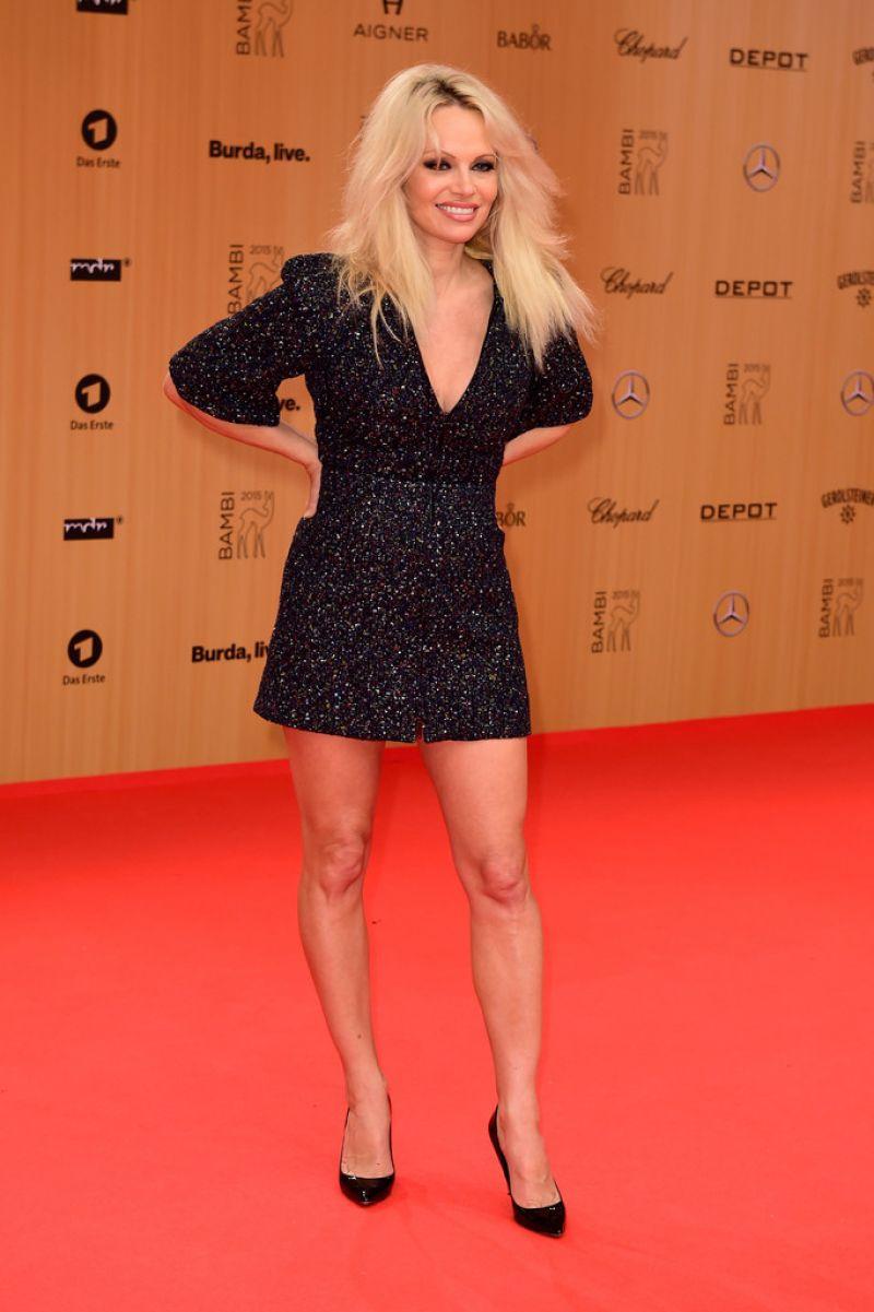 pamela anderson at 2015 bambi awards in berlin 11 12 2015