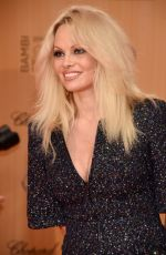 PAMELA ANDERSON at 2015 Bambi Awards in Berlin 11/12/2015