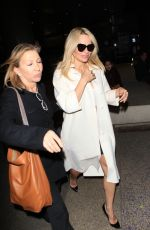 PAMELA ANDERSON at Los Angeles International Airport 11/17/2015